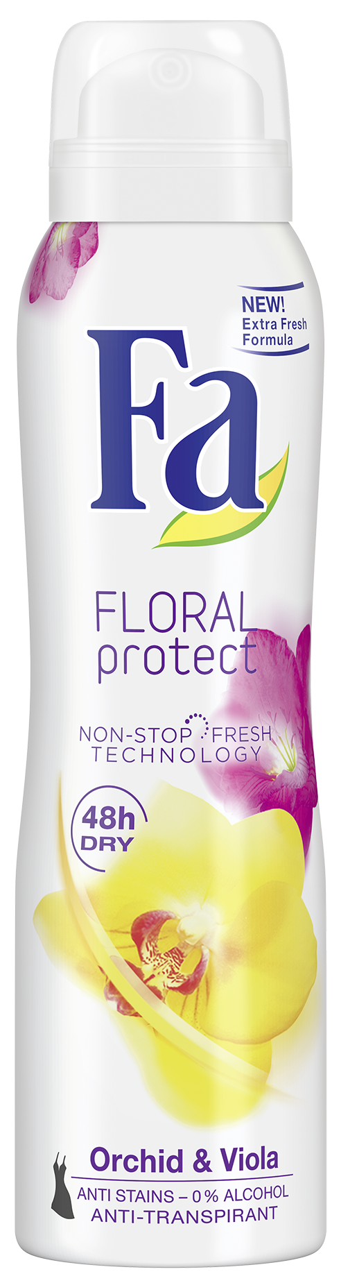 Deodorant spray floral protect orchid & violet