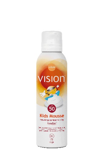 Vision All Day Zonnebrand Kids Mousse Sun Protection Factor(spf)50 150ml