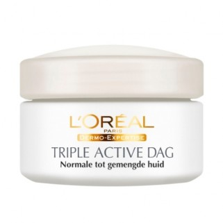 L'Oreal Dermo Expertise Triple Active Dagcreme Normale Huid