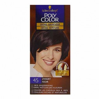 Poly Color Creme Haarverf 45 Zwart