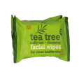 Tea Tree Facial Wipes 2 x 25 stuks