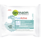 Garnier Pure Active Reinigingsdoek 2in1