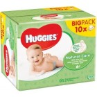 Huggies Babydoekjes Natural Care 10 pak