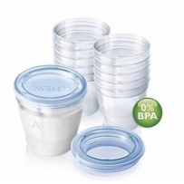 Philips Avent VIA Beker 240ml Moedermelk