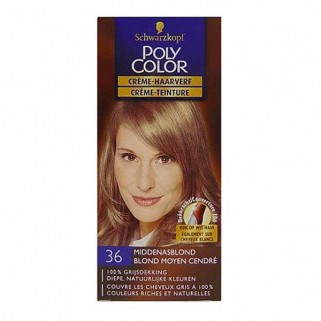 Poly Color Creme Haarverf 36 Middenasblond