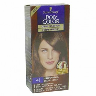 Poly Color Creme Haarverf 41 Middenbruin