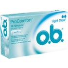 OB Procomfort Light Flow 16 stuks