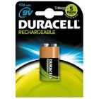 Duracell Oplaad StayCharged 9V 1 stuk