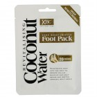 XBC Coconut Water Foot Pack 1 Paar