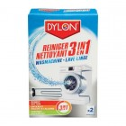 Dylon Wasmachine Reiniger 3in1 2x75gr