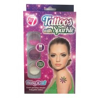 W7 Tattoos with Sparkle Set