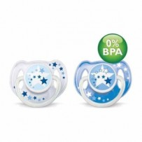 Philips AVENT Fopspeen 6-18m Night Time