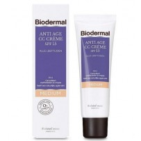 Biodermal  Anti Age CC Cream SPF15 Medium