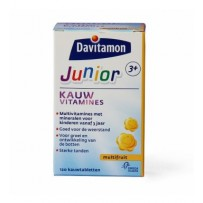Davitamon Junior 3+ Kauw 120st Multifrui